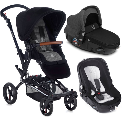 Jane Epic + Matrix Travel System, Jet Black  - Click to view larger image