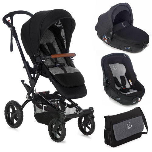Crosswalk R + Matrix Travel System, Jet Black  - Click to view larger image