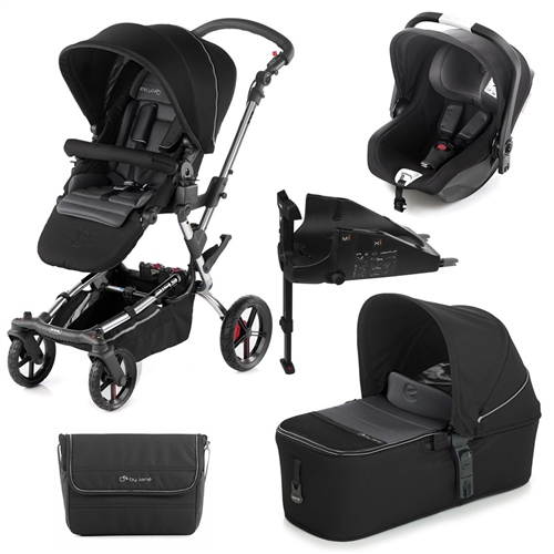 Epic + Micro + iKoos + Isofix Base, Black  - Click to view larger image