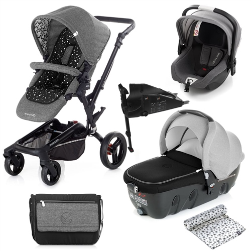 Rider + Transporter + iKoos + Isofix Base, Cosmos  - Click to view larger image