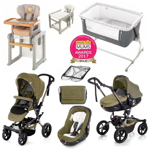 Complete Nursery & Travel System Bundle, Woods  - Click to view larger image