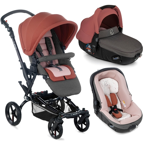 Epic + Matrix Travel System, Boho Pink  - Click to view larger image