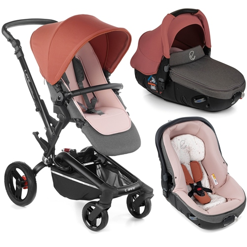 Rider + Matrix Travel System, Boho Pink  - Click to view larger image