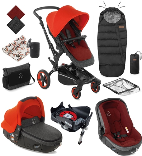 Rider 10 Piece Matrix Travel System Bundle  - Click to view larger image