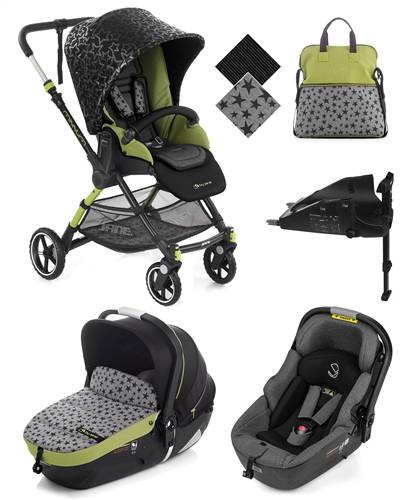 Minnum Sport + iMatrix Travel System, Sky  - Click to view larger image