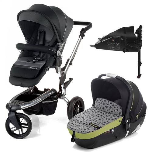 Trider + iMatrix + Isofix base, Black Sky  - Click to view larger image