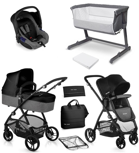 Be Cool Slide-3 Travel System & Nursery Bundle  - Click to view larger image