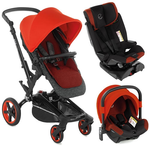 Jane Rider + Groowy + Nest travel system  - Click to view larger image