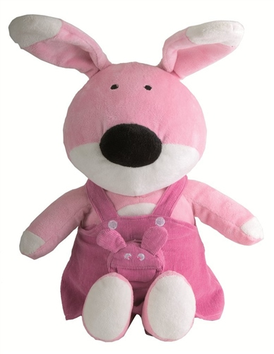 Jane Pinky Rabbit Soft Toy  - Click to view larger image