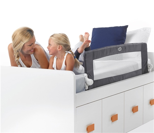 Jane Foldable Bed Rail for Compact beds, 140 x 43 cm  - Click to view larger image