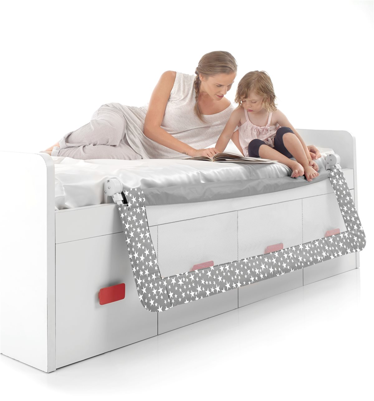 Foldable Bed Rail For Compact Beds 150cm Jane Uk Com