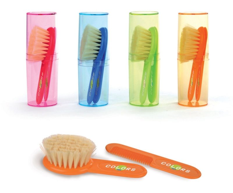 Brush & Comb Set in case (Very Soft)