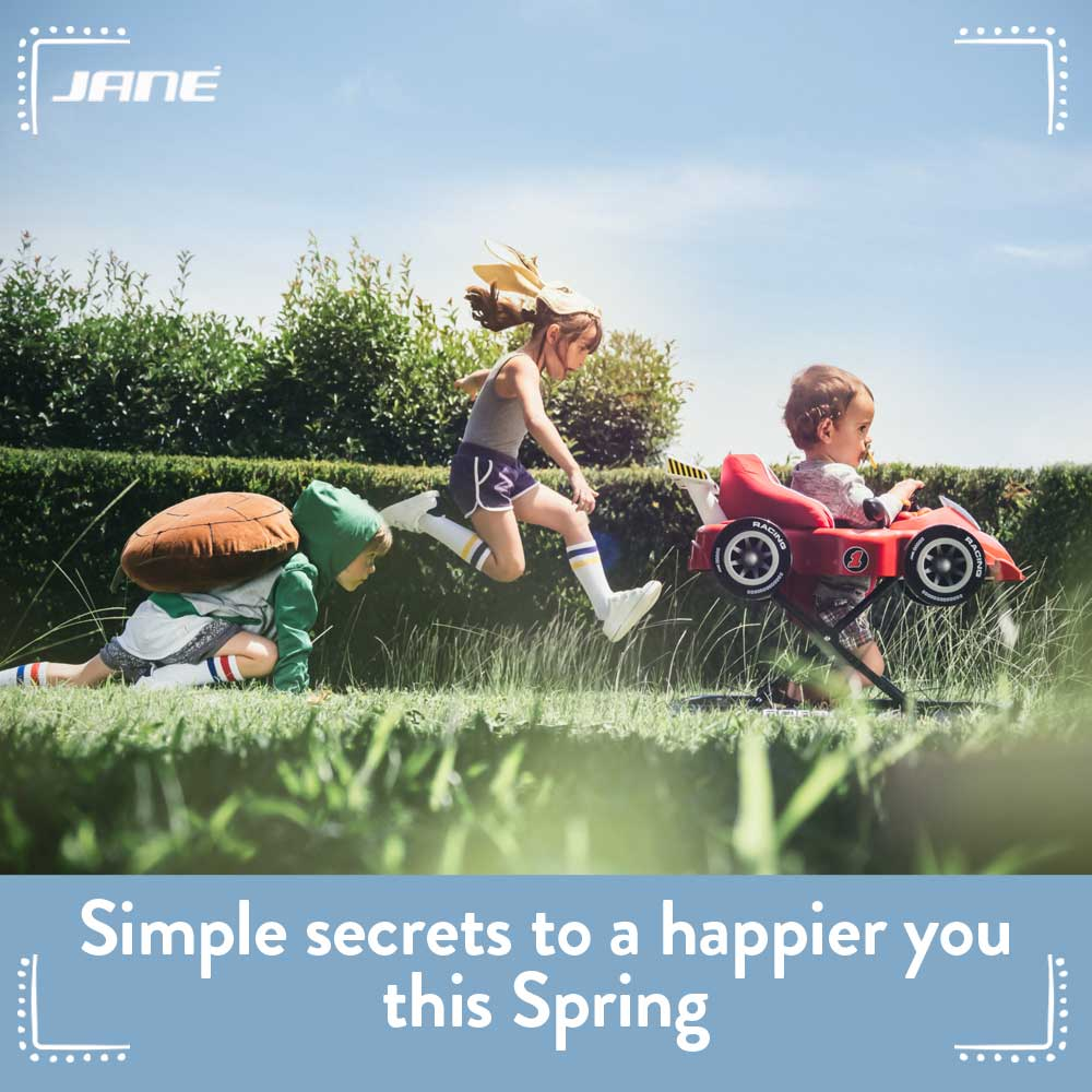 Simple secrets to a happier you this Spring