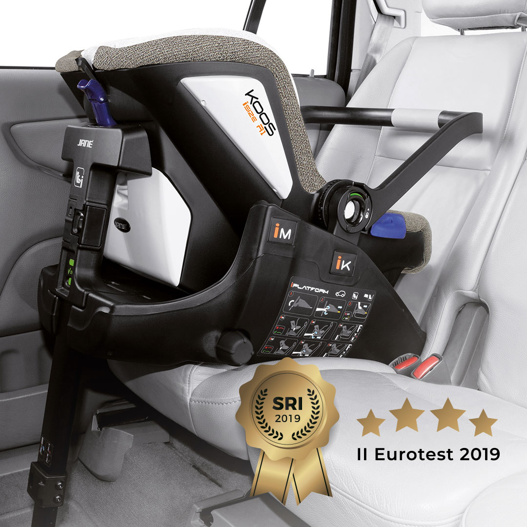 Eurotest 2019, Europe's ultimate car seat test, gives Jane car seats the green light