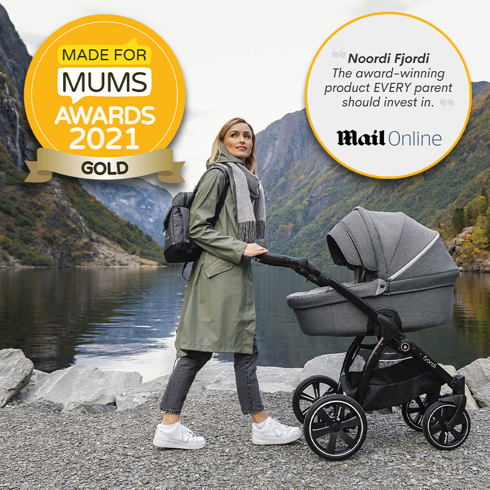 Noordi scoops Gold Award and is now a Daily Mail 'essential' for all parents!